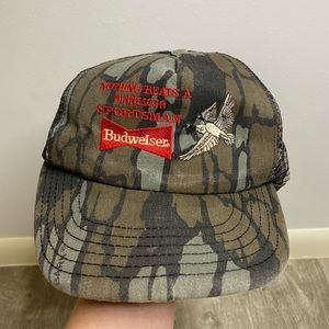 Budweiser Minnesota Vintage Made in USA Snap Hat